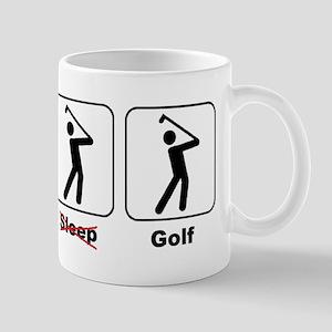 Eat Sleep Golf Mug
