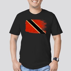 Flag Templates Men's Fitted T-Shirt (dark)