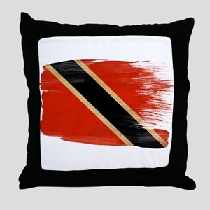 Flag Templates Throw Pillow