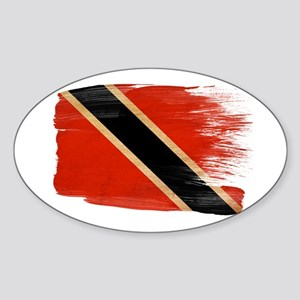Flag Templates Sticker (Oval)