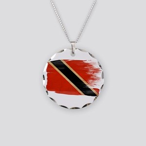 Flag Templates Necklace Circle Charm