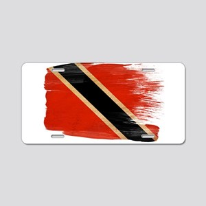 Flag Templates Aluminum License Plate