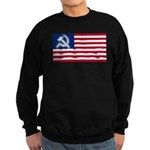 American flag Sweatshirt (dark)