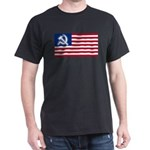American flag Dark T-Shirt