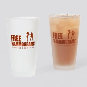 Free mammograms Drinking Glass
