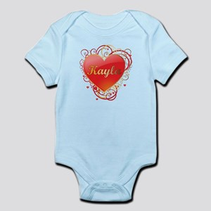 Kayla Valentines Infant Bodysuit
