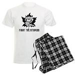 Men's Fight the Stupids Pajamas