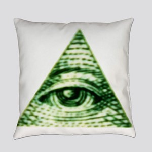 The Eye in the Sky Everyday Pillow