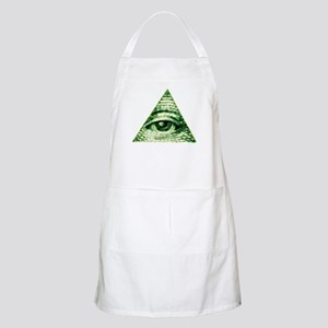 The Eye in the Sky Light Apron
