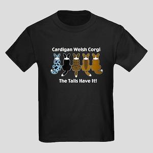 Wagging Cardigans Kids Dark T-Shirt