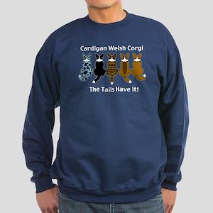 Wagging Cardigans Sweatshirt (dark)