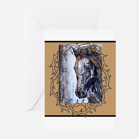 Unique Canadian horse Greeting Cards (Pk of 20)