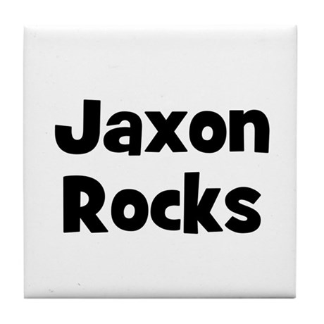 Jaxon Rocks Tile Coaster