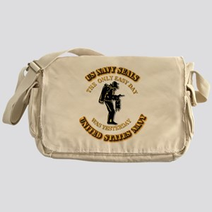 Navy - SOF - The Only Easy Day Messenger Bag