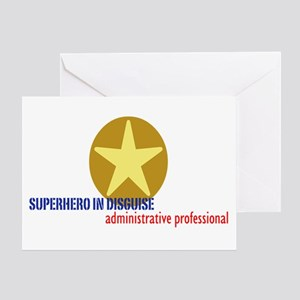 Superhero in disguise Greeting Card