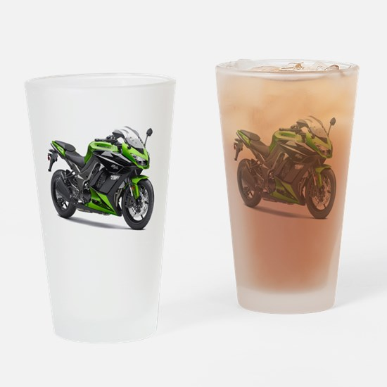 Cute Superbike Drinking Glass