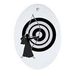 Kyudo3 Ornament (Oval)