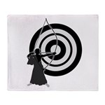 Kyudo3 Throw Blanket
