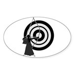 Kyudo3 Sticker (Oval 10 pk)