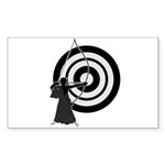 Kyudo3 Sticker (Rectangle 50 pk)