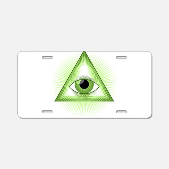 luminati Aluminum License Plate