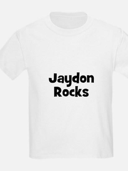 Jaydon Rocks Kids T-Shirt