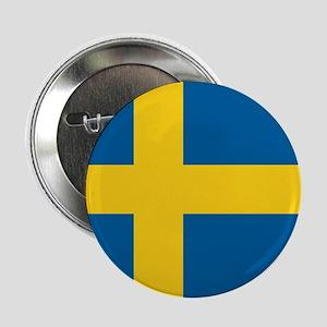 Sweden World Flag Badge / Button
