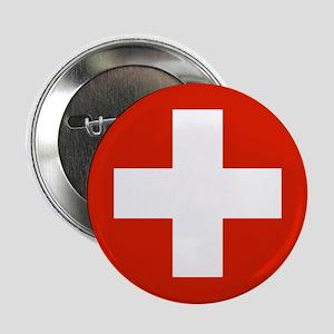 Switzerland World Flag Badge / Button
