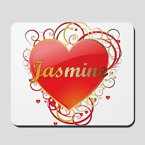Jasmine Valentines Mousepad