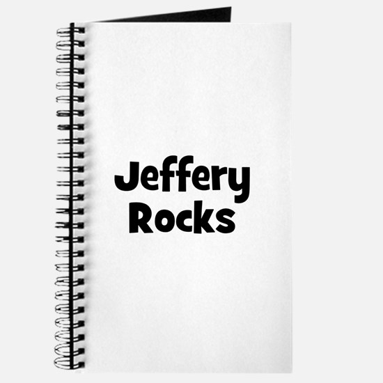 Jeffery Rocks Journal