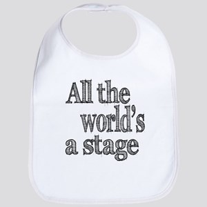 All the World's a Stage Bib