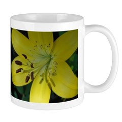 Golden Lily Mug