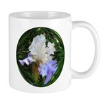 Blue and White Iris Mug