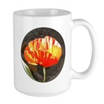 Red Poppy Large Mug #2