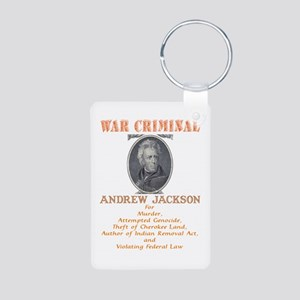 A. Jackson - Criminal Aluminum Photo Keychain