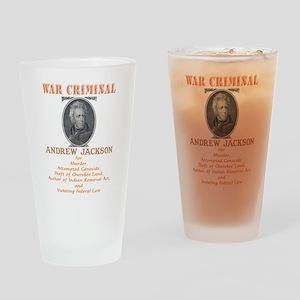 A. Jackson - Criminal Drinking Glass