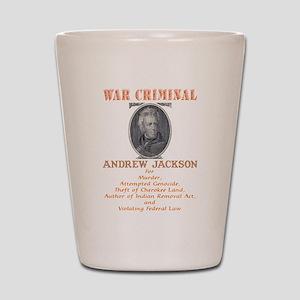 A. Jackson - Criminal Shot Glass