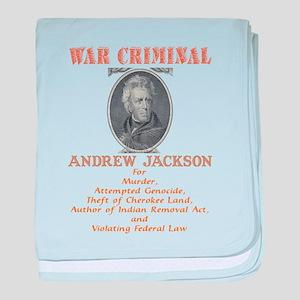 A. Jackson - Criminal baby blanket