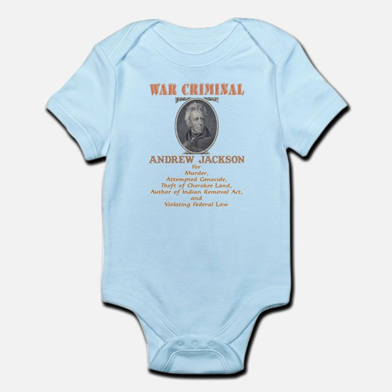 A. Jackson - Criminal Infant Bodysuit