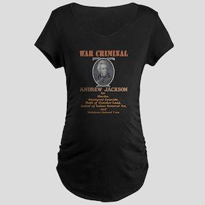 A. Jackson - Criminal Maternity Dark T-Shirt