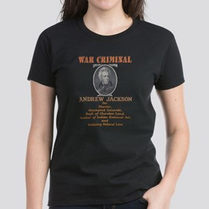 A. Jackson - Criminal Women's Dark T-Shirt