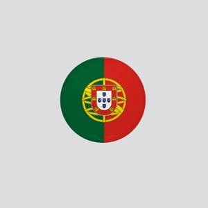 "Portugal World Flag 1"" Badge / Mini Button"