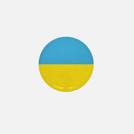 "Ukraine World Flag 1"" Badge / Mini Button"