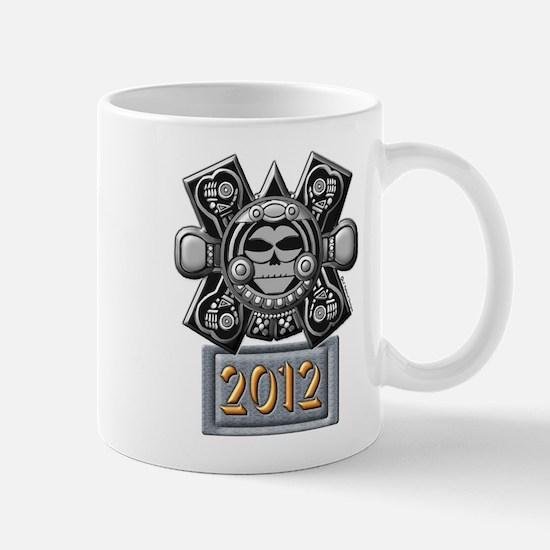 2012 Mayan Crossbones Mug