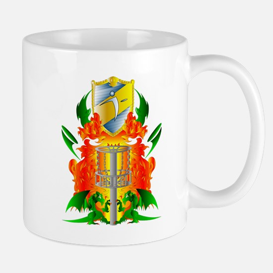 Color Disc Golf Coat of Arms Mug