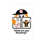 Baseball Sticker (Rectangle 10 pk)