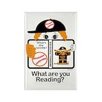 Baseball Rectangle Magnet (10 pack)