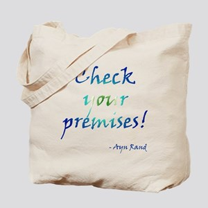 Check Your Premises Tote Bag