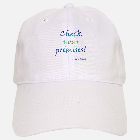 Check Your Premises Baseball Baseball Cap
