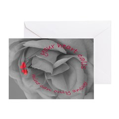Valentine's Day Romantic Card Greeting Cards